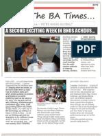 Bnos Achdus Newsletter Week 2