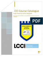 Lcc i Course Catalogue