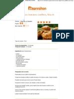 Muffins Aux Tomates Confites, Feta Et Basilic