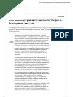 Los Acuerdos Prematrimoniales Llegan Empresa Familiar Sala Serra Abogados