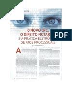 Novo CPC - Direito Notarial e Prática Eletrônica de Atos processuais.pdf
