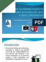 Analisis Antivirus Corporativos 2012 II