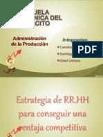 Estrategia de RR.hh Grupo 9