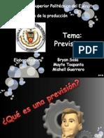 Previsiones Grupo 1