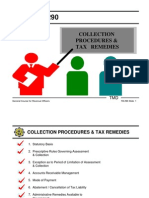 Collection Procedures and Tax Remedies