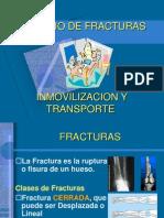fracturas, inmovilizaciones