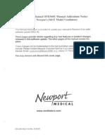 Newport Manual