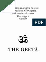 The Geeta [2990110003506]