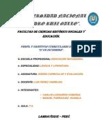 Perfil y Objetivos Del Estudiante