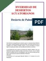 Biodiversidad de Desiertos Ecuatorianos