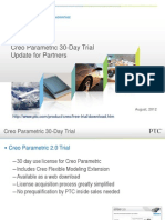 Creo Parametric 30 Day Trial Presentation Partners