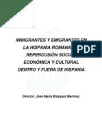 Inmigrantes_y_emigrantes en Espana Durante Trajano y Adriano