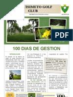 Revista BGC. Informe Gestion 100 Dias