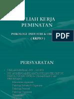 KKPIO (Khusus)