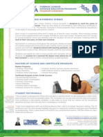 Forensic Science Master's Degree