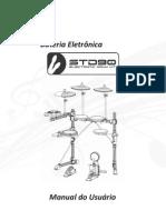 Manual Bateria Eletrônica STD90