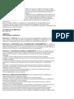 Reglamento de La Sup.de Pensiones, Valores y Seguros