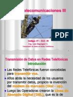 Curso Telecom III - TxDx Por Redes Telef 2013