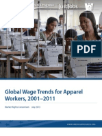 Global Wage Trends for Apparel Workers, 2001–2011