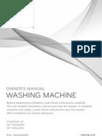 LG 6 Motion DD Washer Dryer MFL62644909