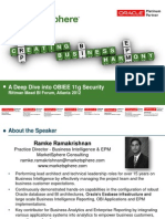 A Deep Dive Into OBIEE 11g Security (Ramakrishnana @ Rittman Mead BI Forum, Atlanta 2012)
