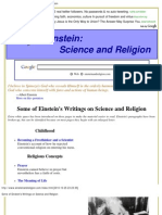 Writings on Science and Religion