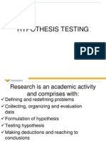 90156Hypothesis Testing