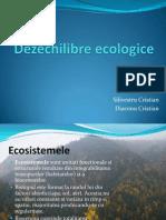 Dezechilibre ecologice