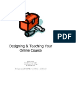 Designing & Teaching Your Online Course