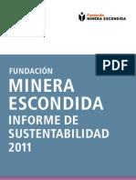 Informe Sustentabilidad 2011