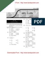 4 12 2011 Numerical Ability CLERK
