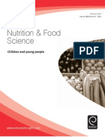 Nutrition and Food Science Children and Young People