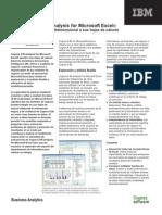 Cognos 8 BI Analysis for Microsoft Excel