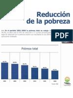 reducción pobreza