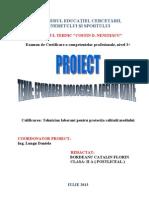 Proiect-Epurarea Biologica a Apelor- FINAL