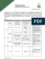 Edital 018-13 Resultado - SUbstituto GERAL