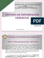 Presentación telnet sistema de informacion