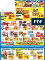 Friedman's Freshmarkets - Weekly Specials - July 11-17, 2013