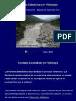 Sesion VII Métodos Estadisticos en Hidrologia