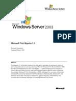 Microsoft Print Migrator 3.1