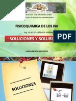 Soluciones y Solubilidad - Kristoper Garcia Mendo
