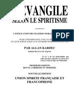Allan Kardec - L'Evangile Selon Le Spiritisme