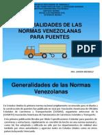 Generalidades de Las Normas Venezolanas