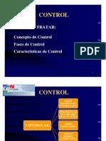 CONTROL de Obras