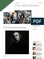 Una pizca de Cine, Música, Historia y Arte_ Carta de Charles Baudelaire a Richard Wagner