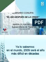 El día después de la crisis, según Hacienda
