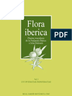 FLORA IBÉRICA VOLUME 1