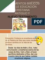 Fundamentos Bc3adblicos Para Le Educacic3b3n Cristiana 20113