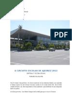 x Circuito Escolar de Ajedrez Ifa-Ajedrea 2013 Torneo Final Ifa