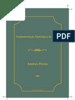 Americo Pereira Fundamentacao Ontologica Da Etica Apresentacao de Uma Tese